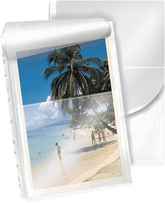 Bolsas Plastico HFP 35261 - A4 31x23,5 c/furos - Fole 2cm