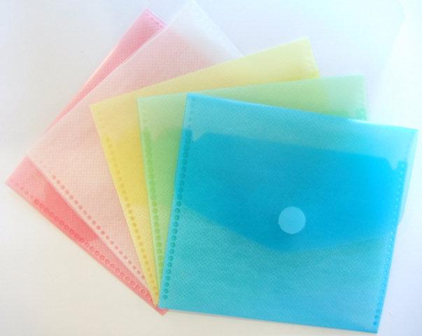 Bolsas Plastico HFP 903 - P/1CD C/fecho de velcro