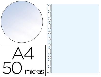 Bolsas Plastico Q KF00311 - 63397 A4 Cristal 0,5 - Pack 100