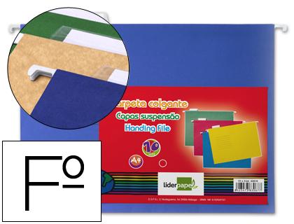 Bolsas Suspensas Folio 37cm Kraft Cor Pack 10