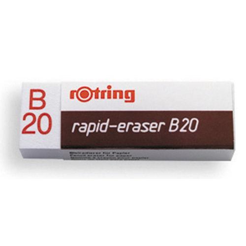 Borrachas Lapis Rotring B20 - Branca