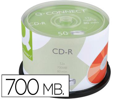 CD GRAVAVEL Q-CONNECT KF00421 - 700mb 80min 52x 54739 SPINDLE C/50