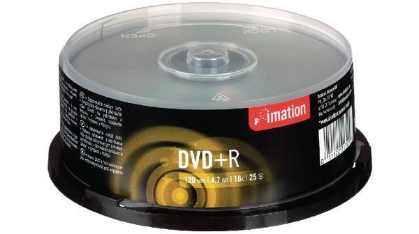 DVD + R IMATION 4.7GB 16X 120min SPINDLE C/25 - IMA21749