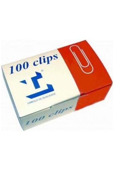 Clips Nº1 - Lismania 22mm Caixa 100 Nacional