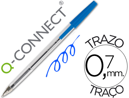 Esferograficas Q-Connect Ballpoint Cristal