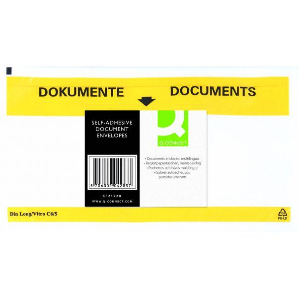 ENVELOPES PORTA DOCUMENTOS KF21725 - 225X122 28664 C/100