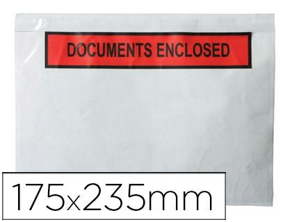 ENVELOPES PORTA DOCUMENTOS KF21729 - 225X165 C/100 (72387)