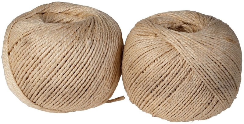 FIO SISAL 2 CABOS - ROLO 300mt