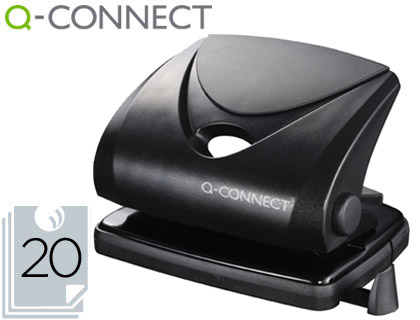 FURADORES Q-CONNECT KF01234 - PRETO 25516  20/25FL