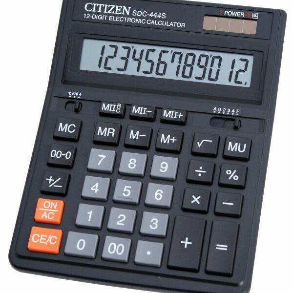 MAQUINAS CALCULAR CITIZEN SDC-444S - 12 DIGITOS 52767