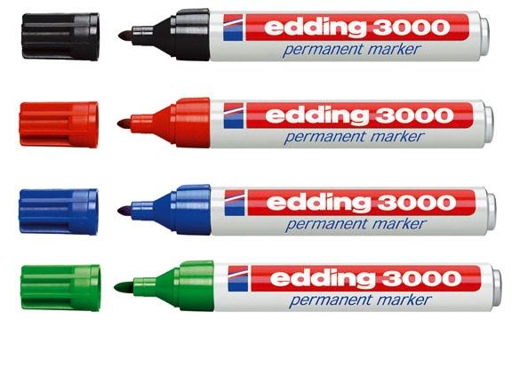 Marcadores Edding 3000