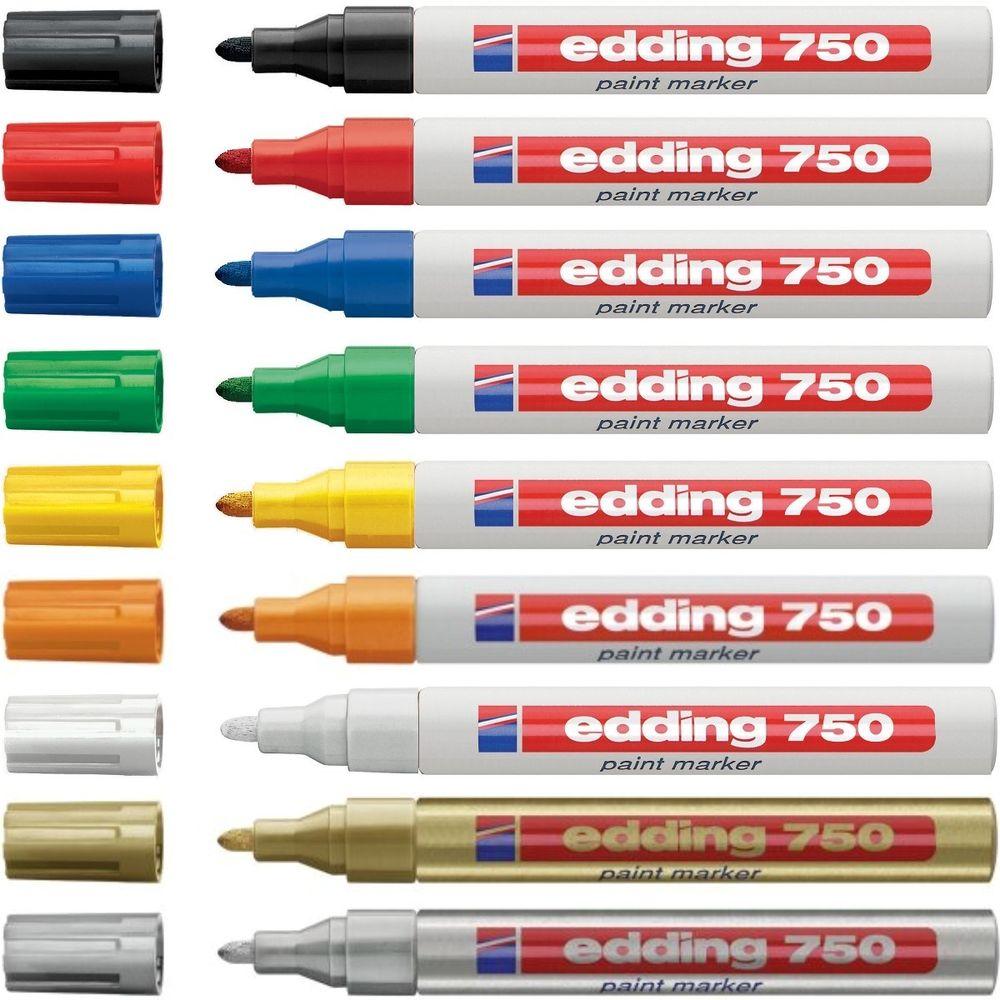 Marcadores Edding 750 - Paint Marker Caixa 10