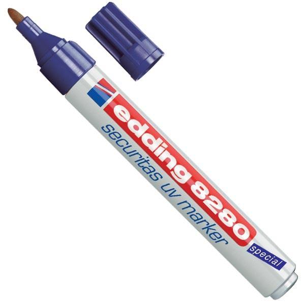 Marcadores Edding 8280 - UV Marker Caixa 10