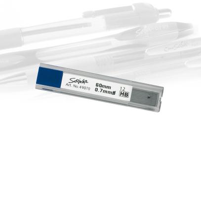 Minas 0,7 HB Scriva - Tubo c/12
