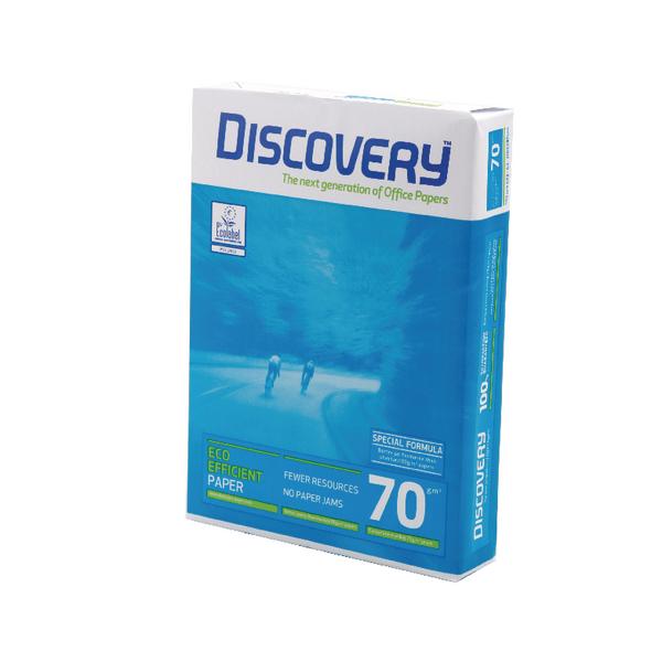 Papel A4 70grs Discovery Caixa 5 x 500fl