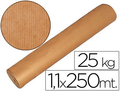 Papel Embrulho Kraft 1,10 x 250mt 70gr - Rolo 25kg  38011