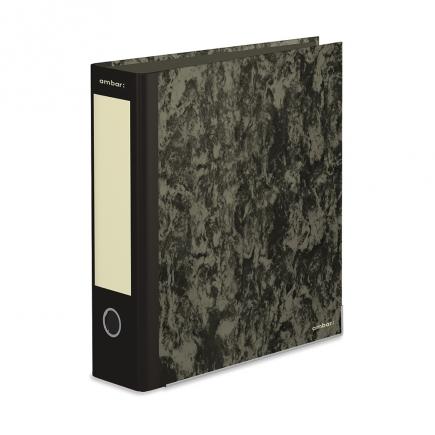 Pastas Arquivo Ambar 10PA13C - Basic Black 8cm