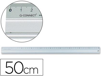 Reguas Metalica Aluminio Q KF00288 c/50cm 17910