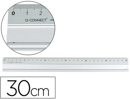 Reguas Metalica Aluminio Q KF00286 c/30cm 17908