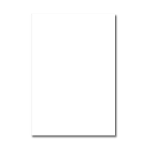 Cartolina Simples A4 Branco 250gr Pack c/125 folhas