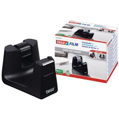 Suporte Fita Tesa 53902 Easy Cut Smart Preto - 33m