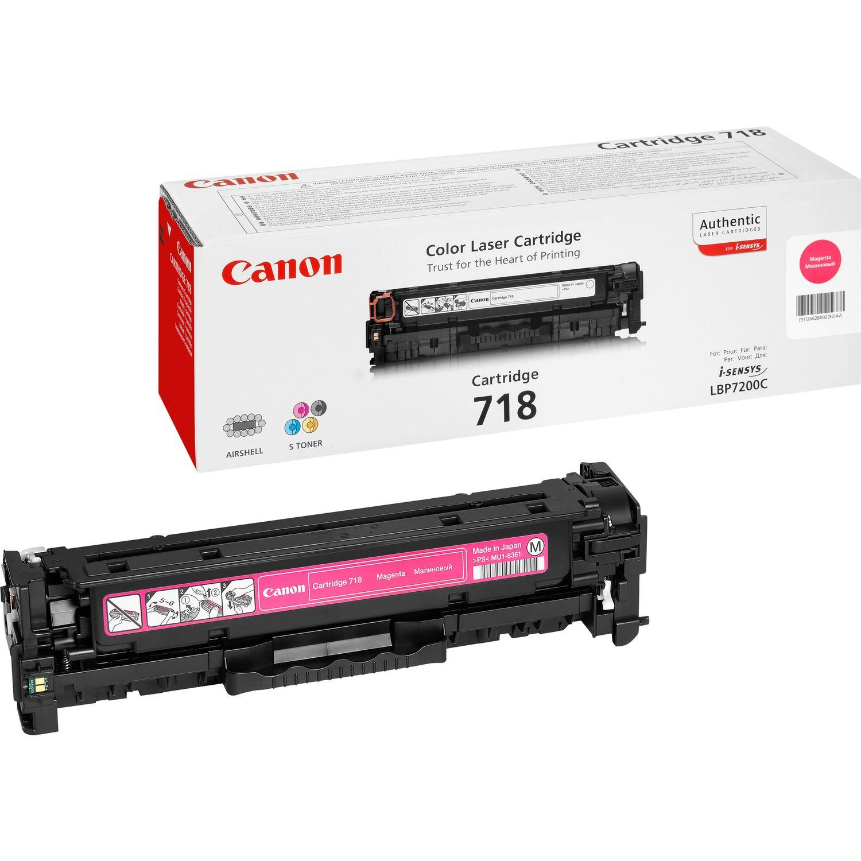 TONER CANON 718M - MF8350c/8330/LBP7660 MAGENTA