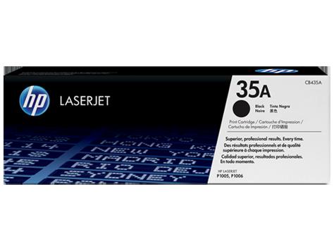 TONER HP CB435A - LASERJET P1005/P1006 - 1500K Nº35A