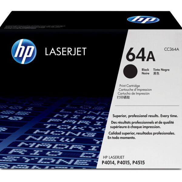 TONER HP CC364A - P4014/4015/4515 PRETO Nº64A - 10.000K