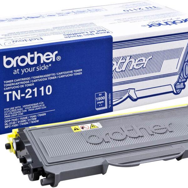 TONER BROTHER TN2110 - HL2140/2150N/7320/7045N/7840W PRETO 1500pg