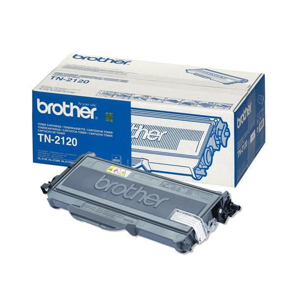 TONER BROTHER TN2120 - HL2140/2150N/2170W/7045N/DCP7030 PRETO ALTA CAP.2600pg