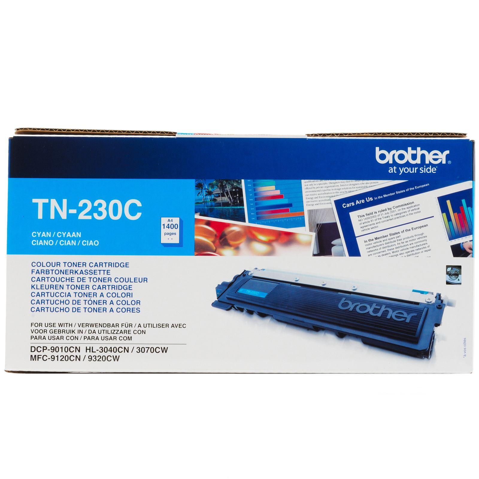 TONER BROTHER TN230C - HL3040CN AZUL 1400pg