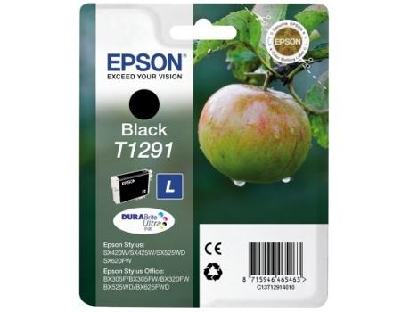 TINTEIROS EPSON T1291 4011 - L PRETO