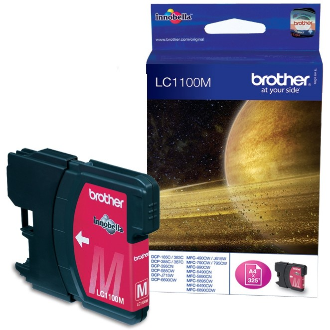 Tinteiros Brother LC1100M Magenta