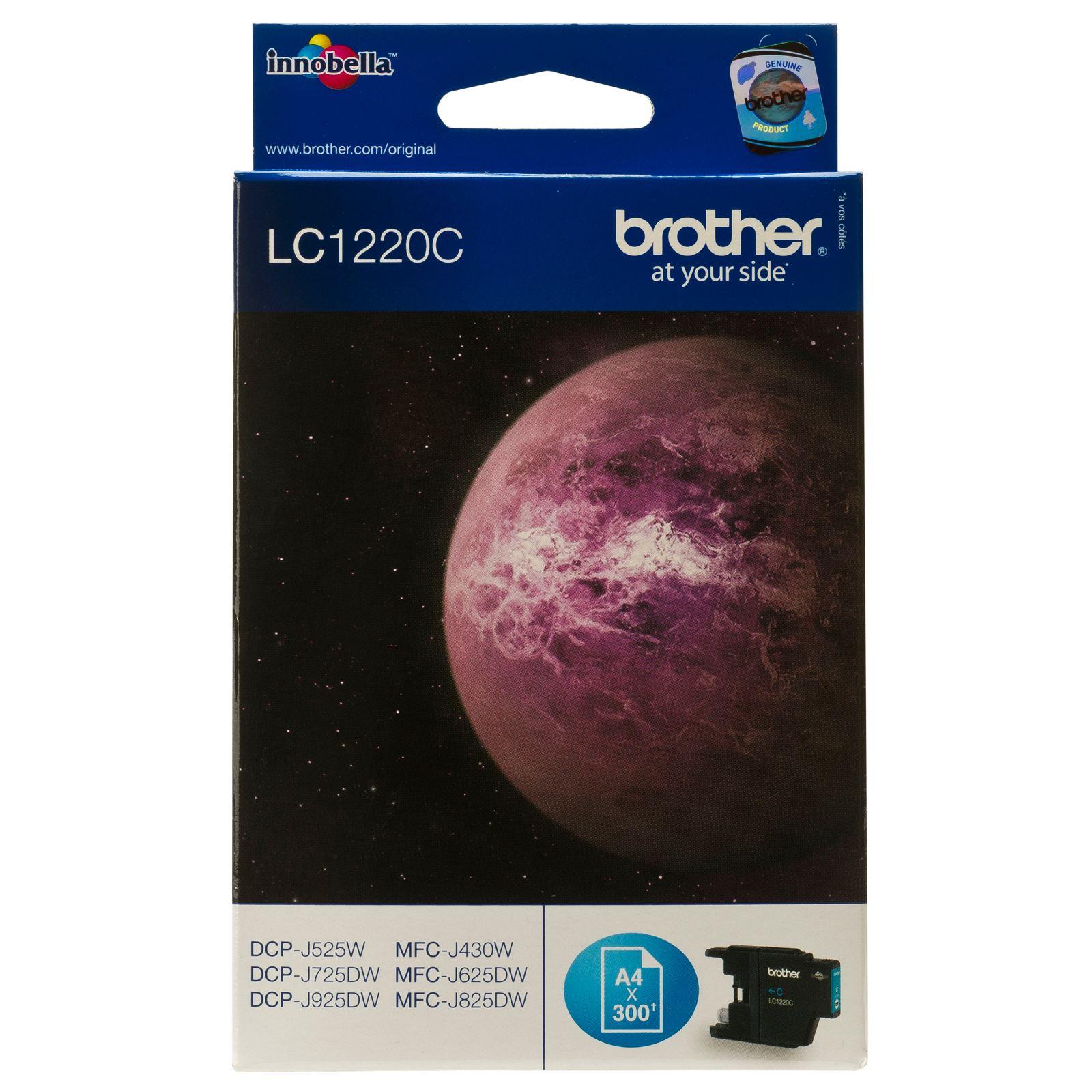 TINTEIROS BROTHER LC1220C - AZUL