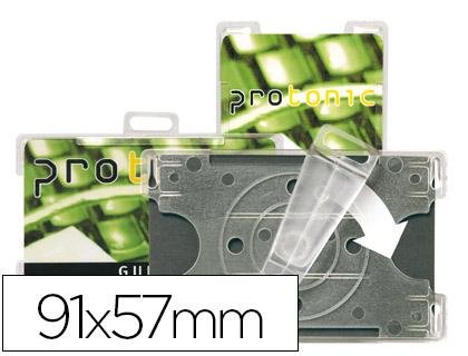 CRACHA PORTA NOMES 3L 11300 91x57 CLIP ROTATIVO P/VERT.E HORIZ.78200 CX10