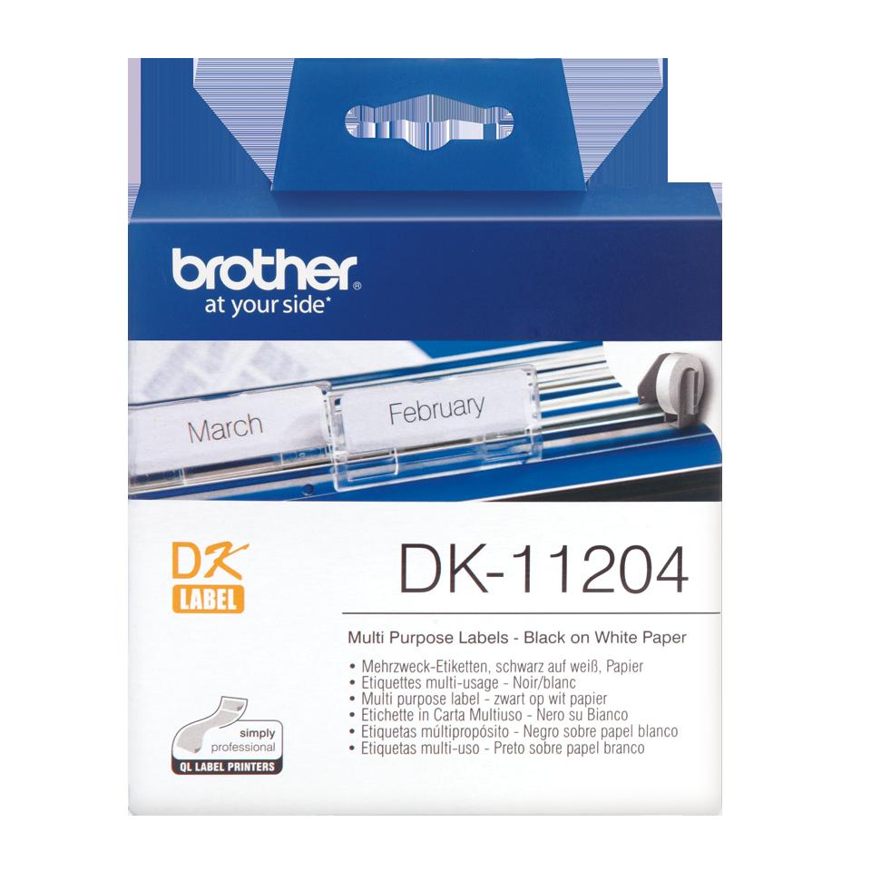 ETIQUETAS BROTHER DK-11204 - 17X54mm 400uni