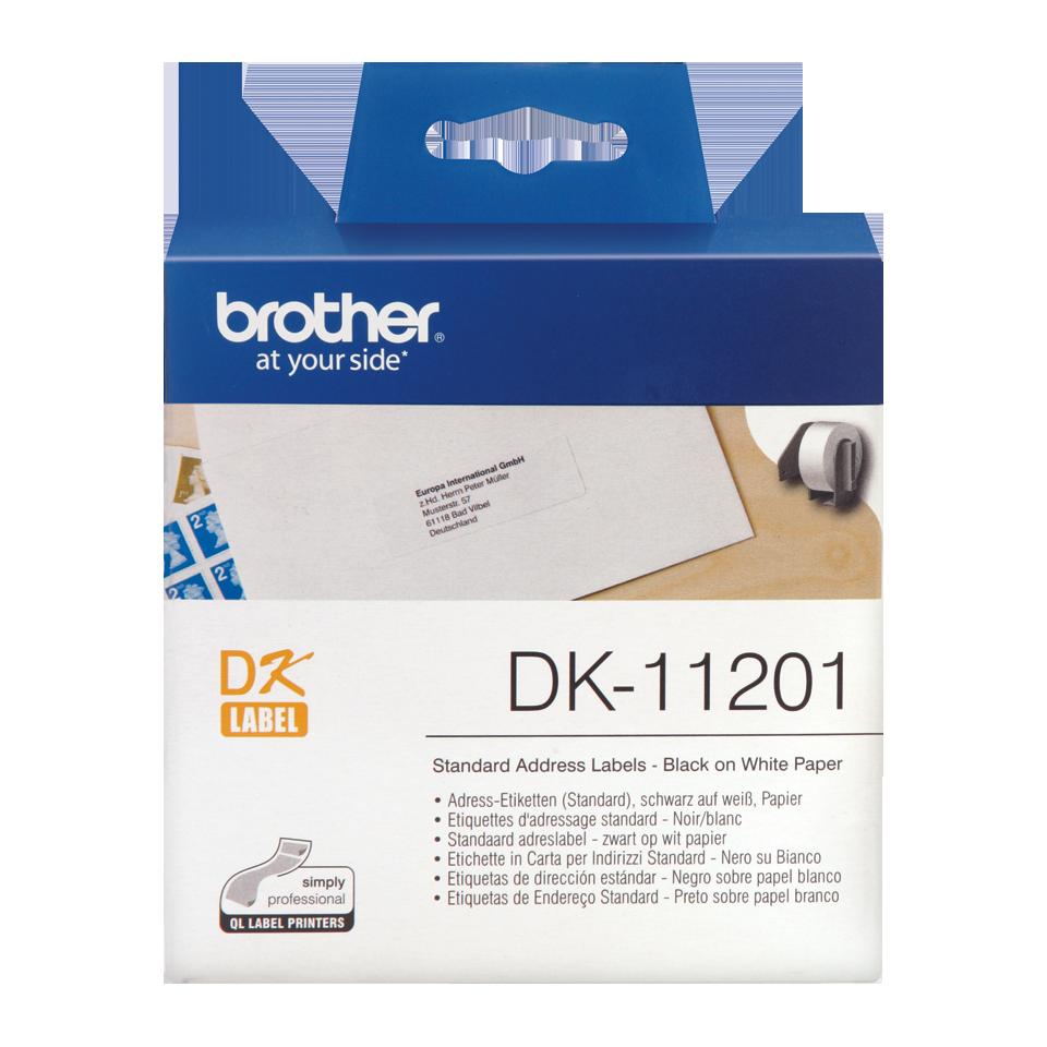 ETIQUETAS BROTHER DK-11201 - 29X90 400uni