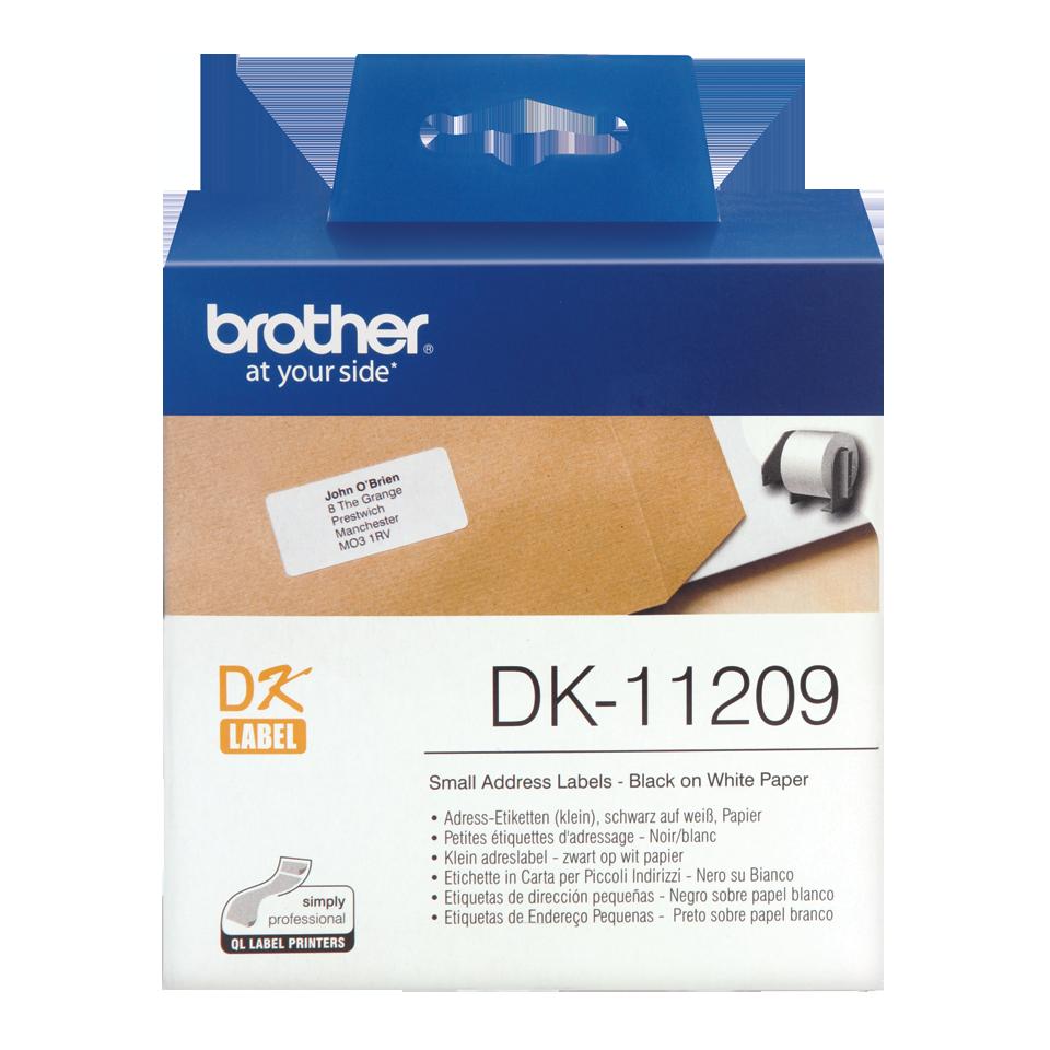 ETIQUETAS BROTHER DK-11209 - 62X29 800uni