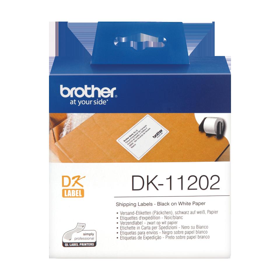 ETIQUETAS BROTHER DK-11202 - 62x100 300uni