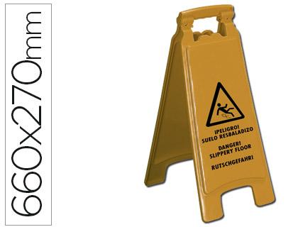 AVISO PLASTICO PISO ESCORREGADIO KF04238 - 660X270mm 36134