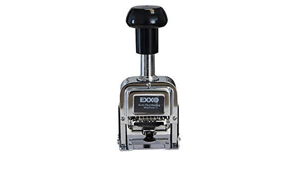 NUMERADORES METALICOS EXXO 40210 - 10 DIGITOS 4,8mm