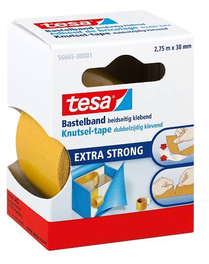 FITA ADESIVA TESA 2,75mX38mm DUPLA FACE EXTRA FORTE 56665 - 51964