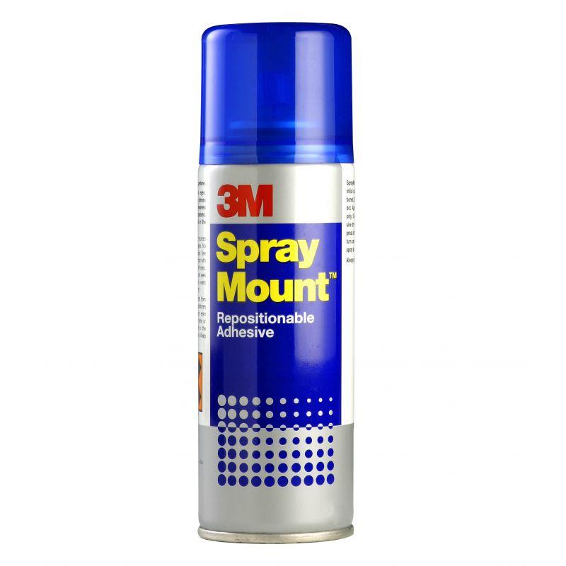 Cola 3M Spray Mount MMM2663 Reposicionavel 400ml