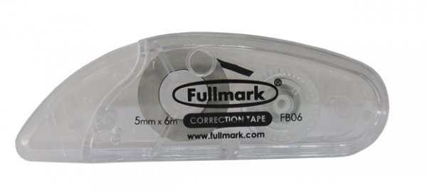 CORRECTOR FULLMARK TP - FITA 5mmX6m Caixa c/10