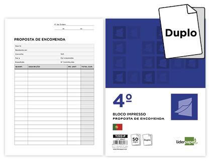 BLOCOS NOTA ENCOMENDA 144X210 ORIG.+COPIA 50 JOGOS 28927- 222-P Pack c/5