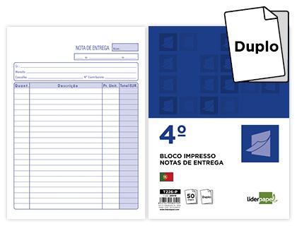BLOCOS NOTA ENTREGA 144X210 ORIG.+COPIA 28919 REF.226 Pack c/5