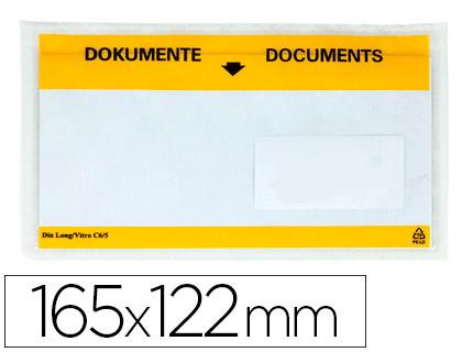 ENVELOPES PORTA DOCUMENTOS KF21724 - 165X122 72384 C/100