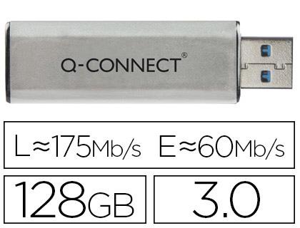 PEN DRIVE Q-CONNECT KF16375 - 68114  128GB 3.0