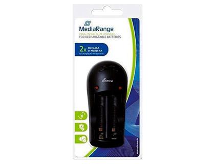 CARREGADOR PILHAS MEDIARANGE MRBAT190 PARA AA/AAA - 151249