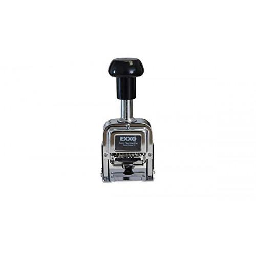 NUMERADORES METALICOS EXXO 40206 - 6 DIGITOS 4,8mm